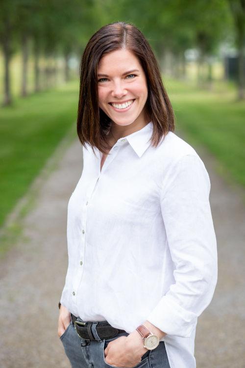 Alena Oppermann - Stellvertretende Vorsitzende der Stiftung Kinder für Benin