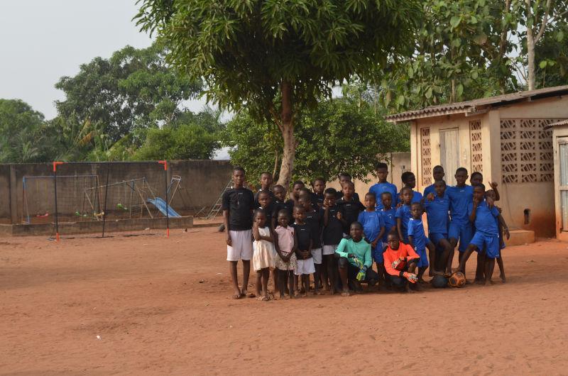 Fußballmannschaft des Waisenhauses St. Nikolas
