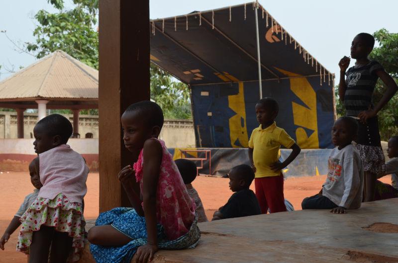 Kinder in Benin