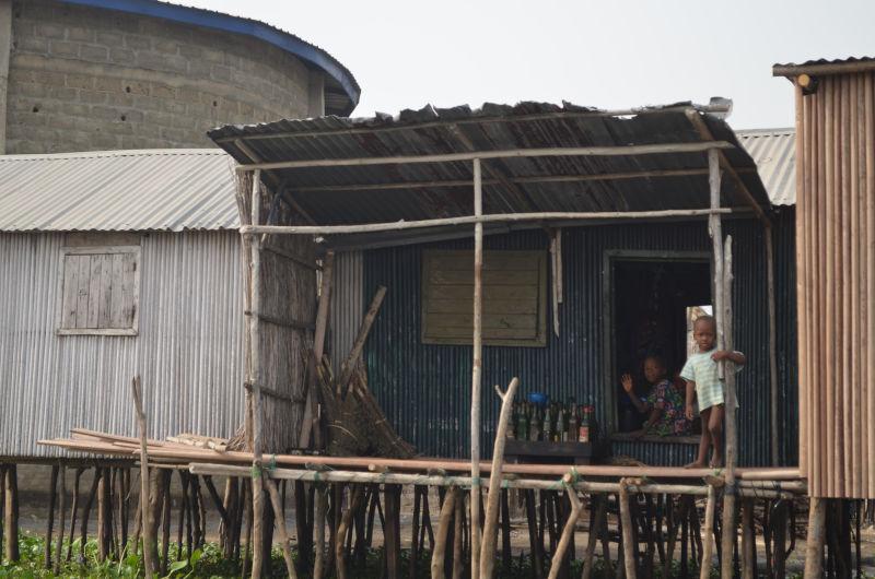 Hütte in Benin