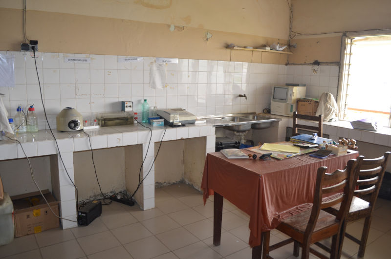 Labor im Krankenhaus